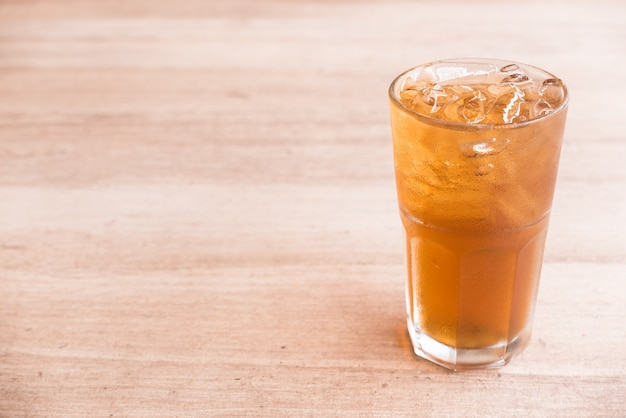 Verre à thé citron glacé