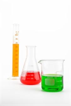 Verrerie de laboratoire chimique