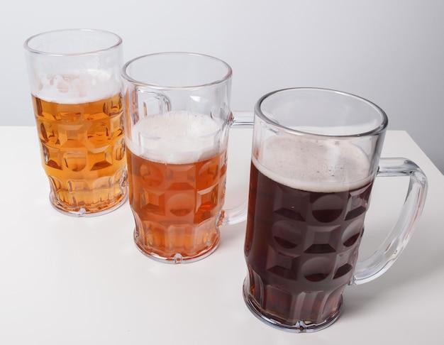 Verres à bière allemands