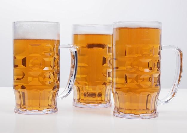Verres à bière blonde