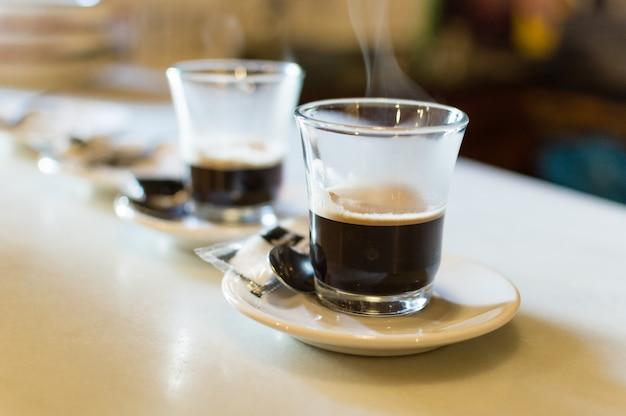 Verres de café