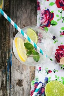 Verres pour limonade