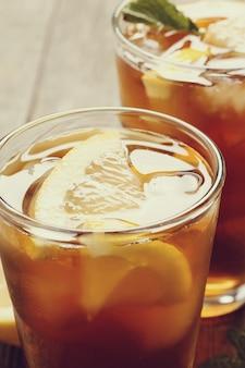 Verres à thé glacé