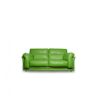 Vert canapé confortable