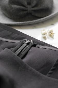 Veste close-up avec accessoires