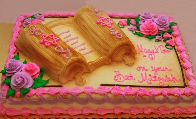 Vêtement rituel de gâteau juif
