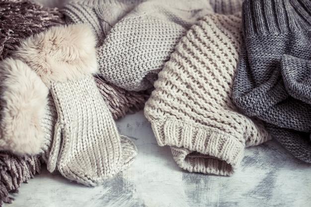 Vêtements chauds en tricot