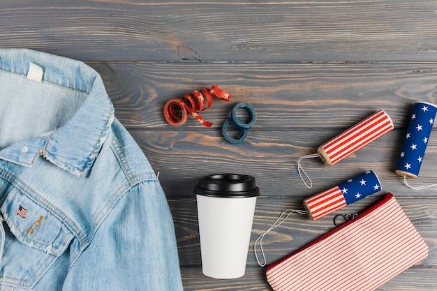 Vêtements et décoration pour le jour de l'indépendance