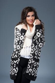 Des vêtements doux pour la saison d'hiver