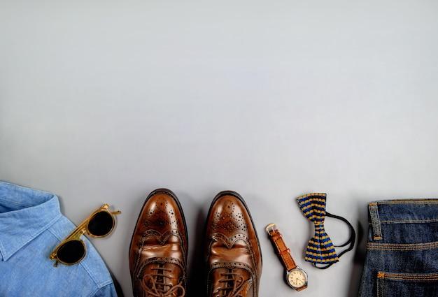 Vêtements pour hommes, concept de fête des pères