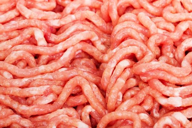 Viande de porc hachée