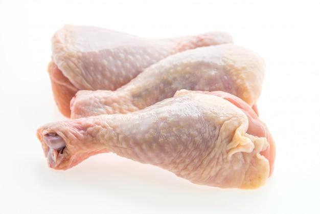 Viande de poulet crue