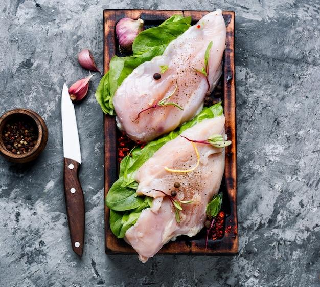 Viande de poulet fraîche