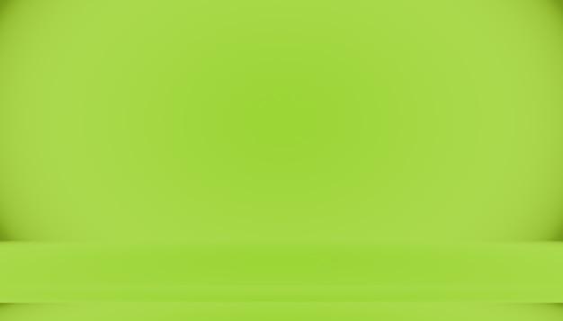 Vide green studio bien utiliser comme arrière-plan, modèle de site web, cadre, rapport d'activité.