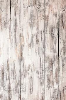 Vide vieux fond de bois peint en blanc minable