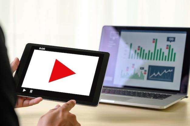 Video marketing audio vidéo, marché chaînes interactives