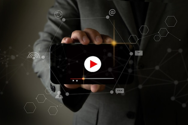 Vidéo marketing social vidéo audio
