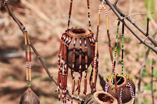 La vie des bushmen, afrique