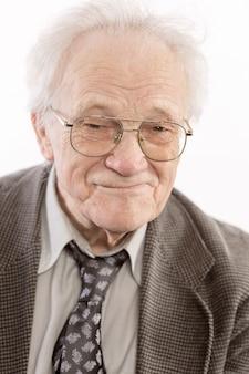 Le vieil homme sourit