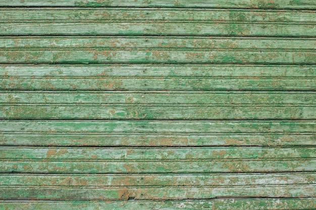 Vieille clôture en bois se bouchent