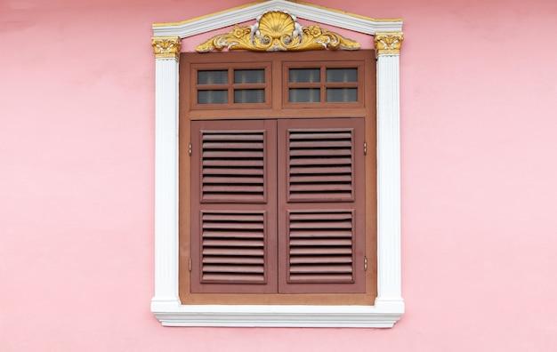 Vieille fenêtre, style chino-portugais