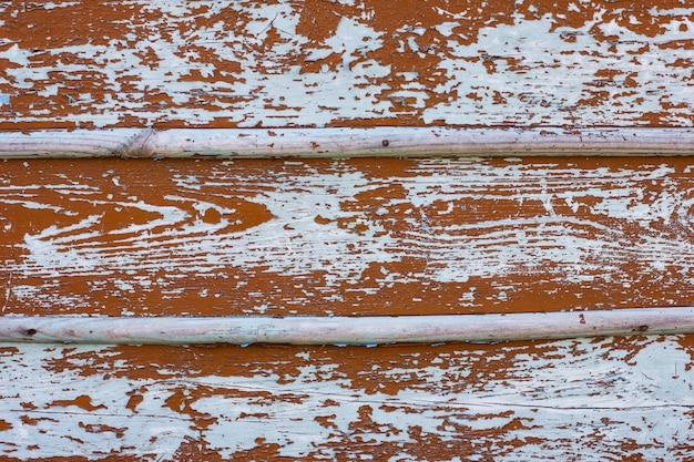 Vieille grange bois porte planche de brun bleu drapé fond de texture