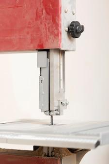 Vieille machine à coudre close-up