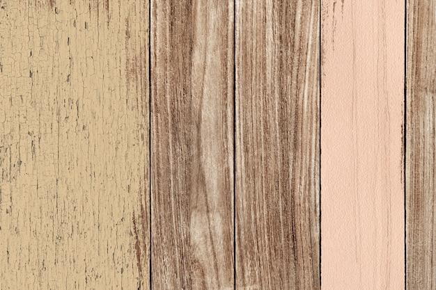 Vieille peinture sur plancher en bois