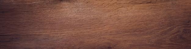 Vieille planche de bois de chêne. bannière de fond de texture