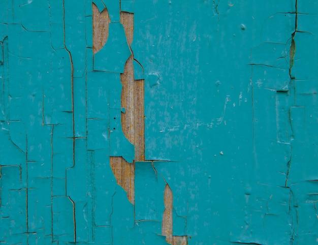 Vieille planche de bois, la peinture tombe de la planche