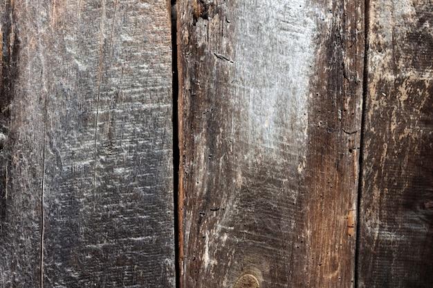 Vieille planche non peinte en bois