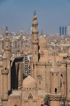 Vieille rue du caire arabe, egypte