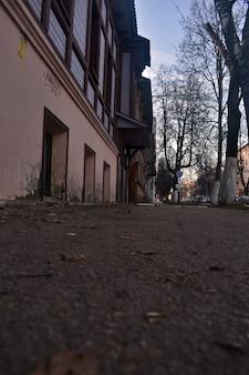Vieille rue à nijni novgorod