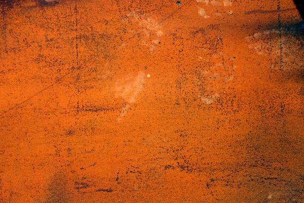 Vieille surface métallique rouillée