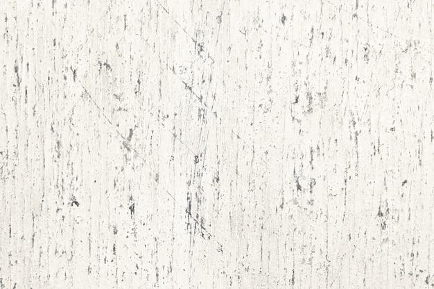 Vieille surface de planche de bois blanc peint