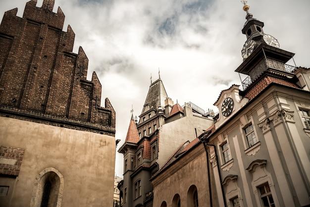 Vieille synagogue et hôtel de ville juif
