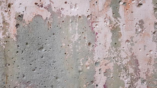Vieille texture de fond de mur peint patiné. murs de plâtre écaillés sales. texture et fond de mur de ciment coloré abstrait, image de haute qualité.
