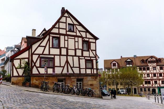 Vieille ville bavaroise nuremberg allemagne, nurnberg middle franconia.