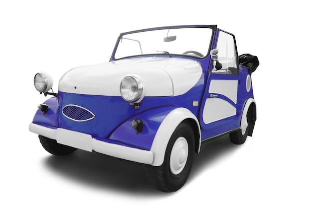 Vieille voiture vintage isolée