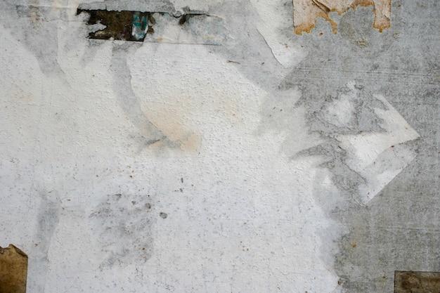 Vieilles affiches grunge fond de texture de surface de papier