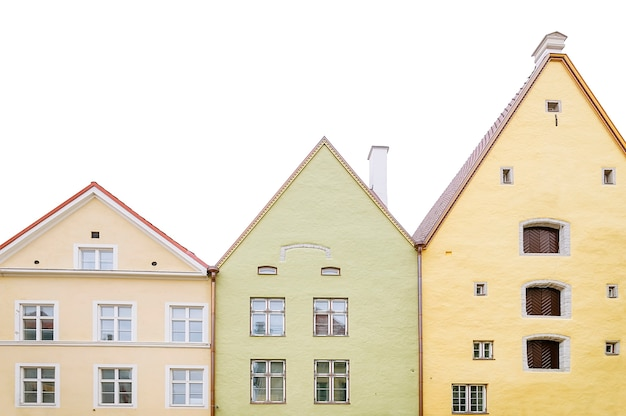 Vieilles maisons au centre de tallinn