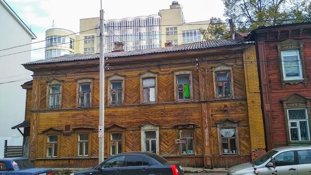 Vieilles maisons à nijni novgorod