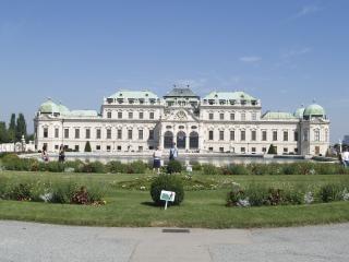 Vienne - palais du belvédère