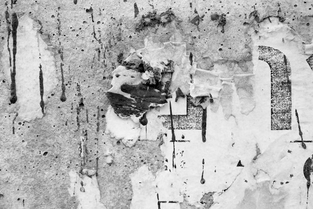 Vieux affiches grunge papier surface texture fond