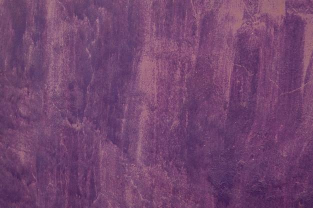 Vieux béton de ciment couleur violet lilas