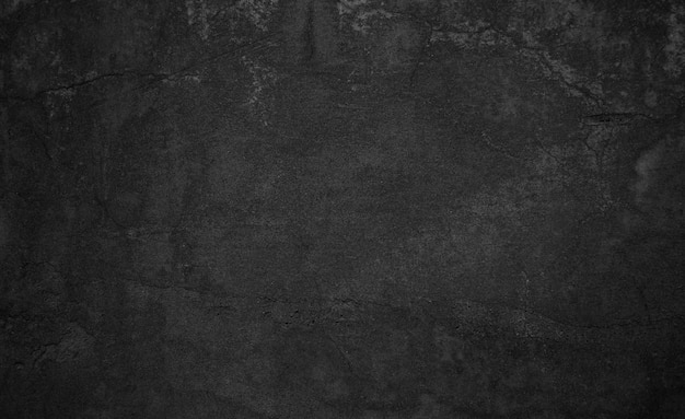 Vieux béton noir ou texture de mur avec un design d'arrière-plan en détresse