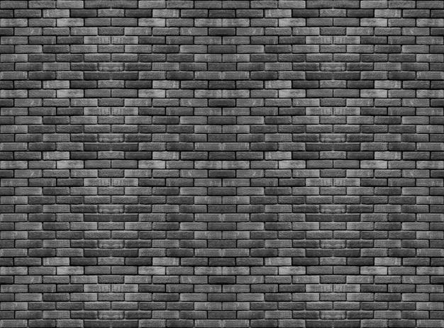 Vieux blocs de brique de ciment noir foncé pile fond de texture de mur.