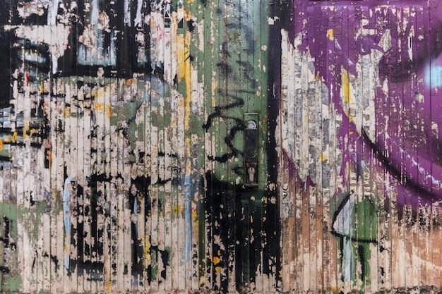 Vieux bois texture avec peinture pelée