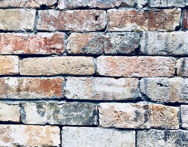 Vieux brique mur texture fond vintage stye