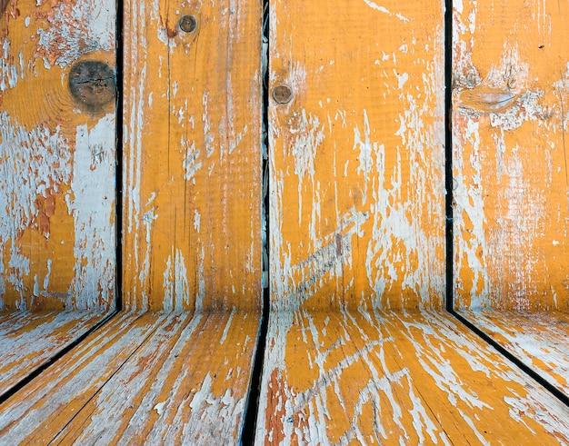 Vieux brun fissuré texture de fond en bois de planches